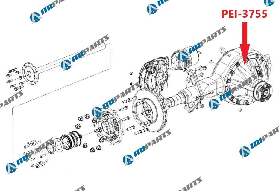 PEI-3755 Редуктор 65206 фото запчасти
